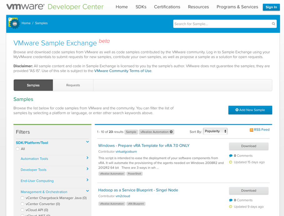 Chapter 11 application authoring cloud advisors fig 6 vmware sample exchange malvernweather Image collections