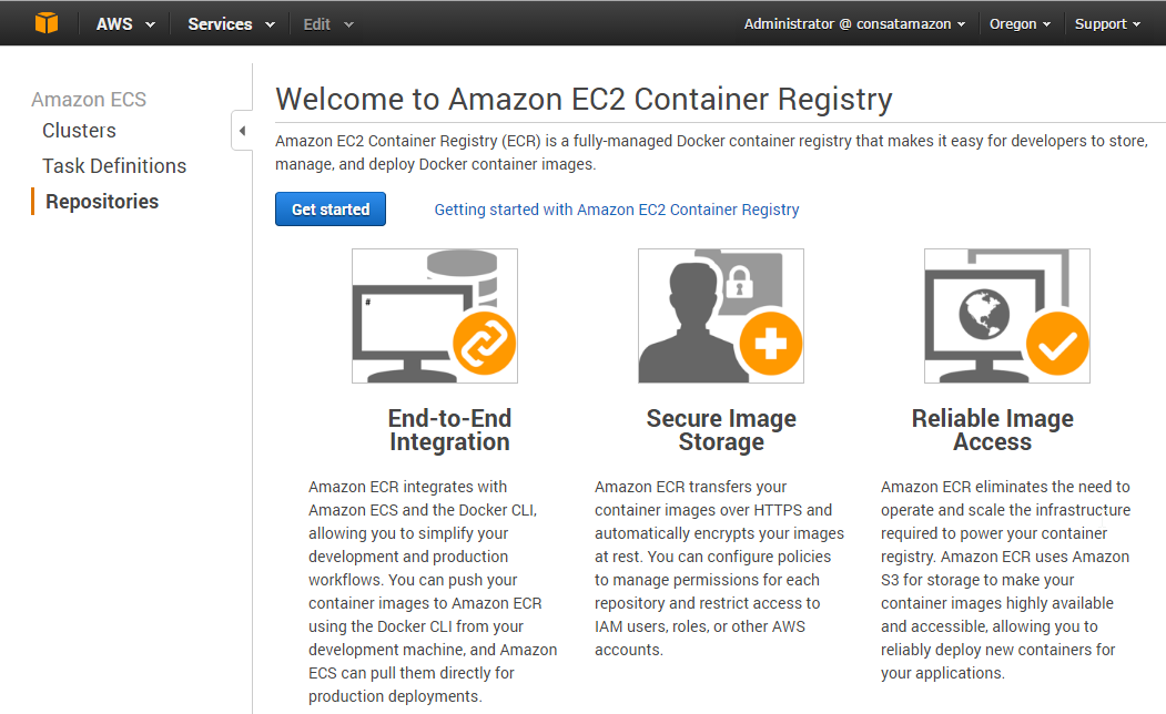 "Docker on AWS with ECS and ECR – Part 3 ""Working with ECR"" - Cloud"