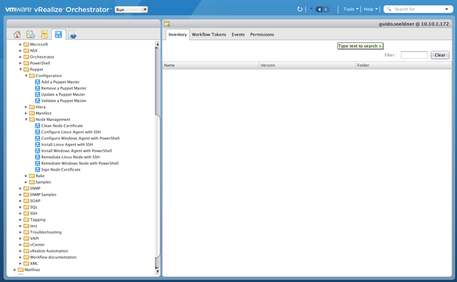 Chapter 21: Working with vRealize Orchestrator - Cloud Advisors