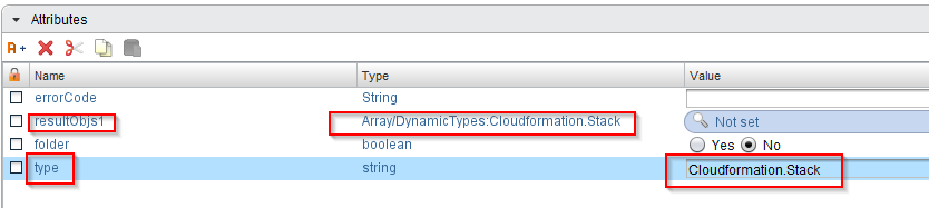 Manage AWS CloudFormation stacks in vRealize Automation with