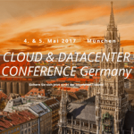 Cloud & Datacenter Conference Germany 2017 vom 04.-05. Mai 2017 in München