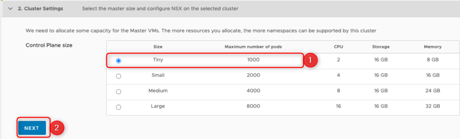choosing cluster size