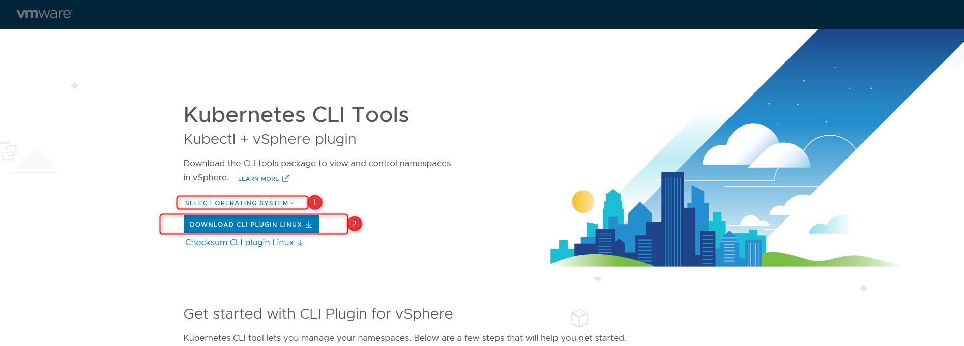create tkg cluster step 2