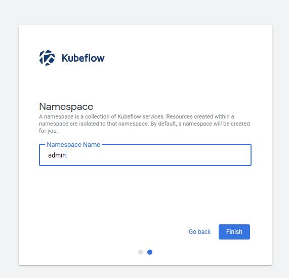 initial kubeflow setup part 2